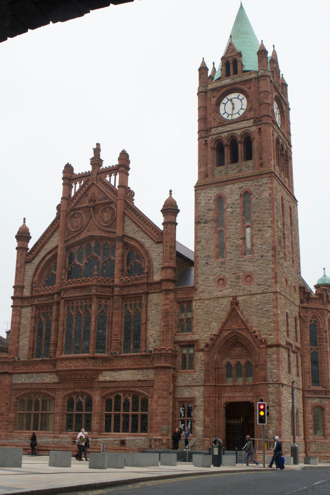 the guildhall  derry city  northern ireland